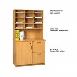 LSH12-3636 Hutch & SFC20-3632 Cabinet
